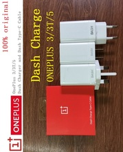 Original Oneplus 3 3T 5 Dash charger 5V/4A One plus Three Five mobile phone Power adapter with 1+ Dash Charge TYPE-C data Cable(China)
