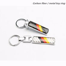 1pcs Car Styling Flag of Germany Key Ring Chain Keyring Keychain For Volkswagen Passat B6 B5 Polo Golf 4 5 6 7 Bora Touran