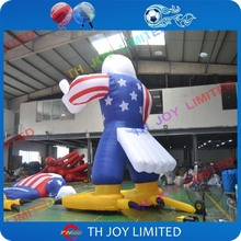 free shiping giant 20ftH Patriotic America inflatable eagle customize giant inflatable eagle large advertising inflatable eagle