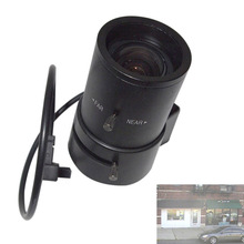 CCTV Lens 2.8-12MM Varifocal Auto Iris Lens for Professional CCD Camera LCC77(China)