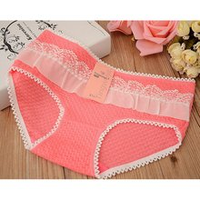 Buy Women's Cotton 5PCS Briefs Cueca Medium Size Underwear Knickers Intimates bragas Sexy Calcinha Lingerie Panties K6
