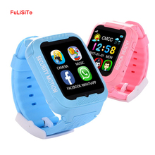 Kids K3 Security Smart GPS Watch MTK2503 children GPS Tracker GPS AGPS LBS Watch phone with Camera Wearable devices PK Q90