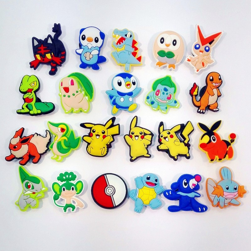 Free shipping 22pcs New Cartoon PVC Kids Gift  Shoe Charms/shoe accessories/shoe decorate for shoe/ Wristbands<br><br>Aliexpress