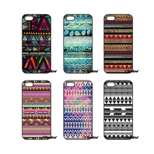 For iPod Touch iPhone 4 4S 5 5S 5C SE 6 6S 7 Plus Samung Galaxy A3 A5 J3 J5 J7 2016 2017 Ethnic Aztec triangle print Case Cover