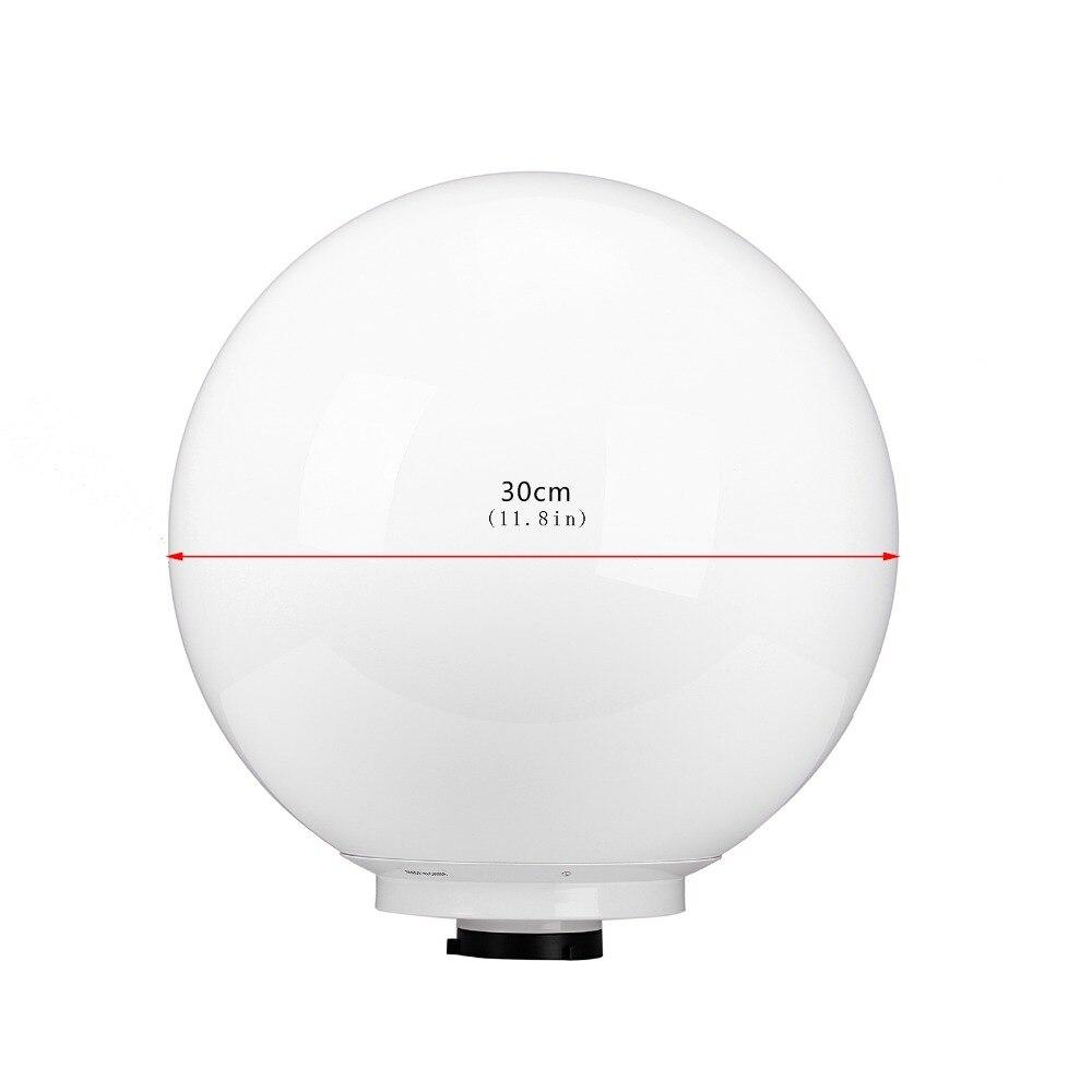 1230cm Studio Global Cover Diffuser Soft Ball Dome Softbox Studio Flash Bowens Mount photographic Photo Studio Accessories (11)