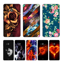 Soft Cases for Microsoft Nokia Lumia 640 630 535 Lumia535 Lumia640 Softlyfit Coque TPU Gel Case 640 Dual Phone Back Cover Rose