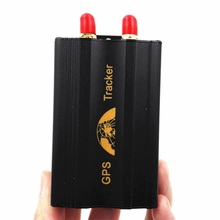 GPS103A+ Powerful vehicle gps tracker with remote controller, fuel sensor central locking relay no retail boxes
