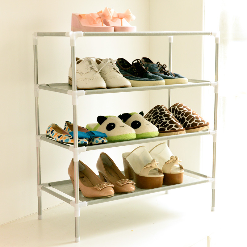 Shoe Cabinet Non-woven Shoes Racks Storage Large Capacity Home Furniture DIY Simple 5 layers Free Shipping(China)