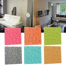 3D Wall Stickers Waterproof TV Background Wall Home Decoration Accessories Irregular Pattern Living Room Decor Sticker