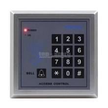 DIYSECUR Access Controller Keypad 13.56MHz RFID IC Cards Proximity Reader + 10 Free IC Card For House /Office /Home Improvement