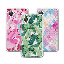 "Mermaid Flamingo Newest Painted Case For coque LG Google Nexus 5 E980 Case Cover Hard Plastic LG Nexus 5 E980 4.95""+Free Gift"