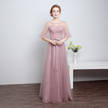 Top quality chiffon evening long maxi dress ball gown hostess special event party club dress robe de soiree vestido de noche