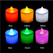 yankee candle LED light birthday candle lantern wedding Flameless Candle molds Party Holiday Decoration(China)