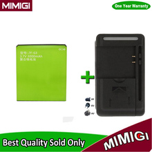 1Lot= 1PC Brand New 3000mAh JY-G3 Battery + 1PC Charger For JIAYU G3 G3S G3C Smart Phone Bateria AKKU Accumulator + In Stock