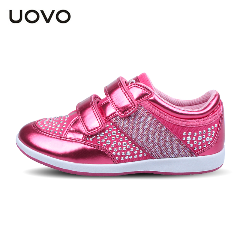 2017 New Free shipping UOVO girls shoes sneakers Spring 2017 new casual shoes lightweight shoes tide buckle small children<br><br>Aliexpress