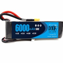Buy DXF 14.8V 6000mAh 4S Lipo Battery Pack 50C XT60 Connector Plug RC Airplane, RC Helicopter, RC Car/Truck, RC Boat for $60.21 in AliExpress store
