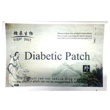 8pcs/lot Diabetic Patch Reduce High Blood Sugar Plaster To Lower Blood Glucose Diabetes Herbal Treatment Plaster Health Care(China)