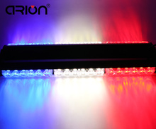 CIRIO Red/White/Blue Both Side 36 LED Magnetic Car Truck Roof Flashing Beacon Emergency Strobe Light Bar Lamp Dash Grille Light(China)