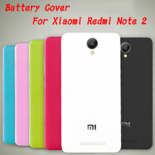 Hot Sale! For Xiaomi Redmi Note 2 Case Hard Back Cover For Hongmi Redmi Note2 Rear Housing Door Battery Cover Cases Replace Part