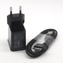 GEUMXL 5V/2A EU Plug Wall Charger + USB Cable For Samsung Galaxy Tab 2 3 7.0 8.9 10.1 Note 2 Tablet P1000(China)