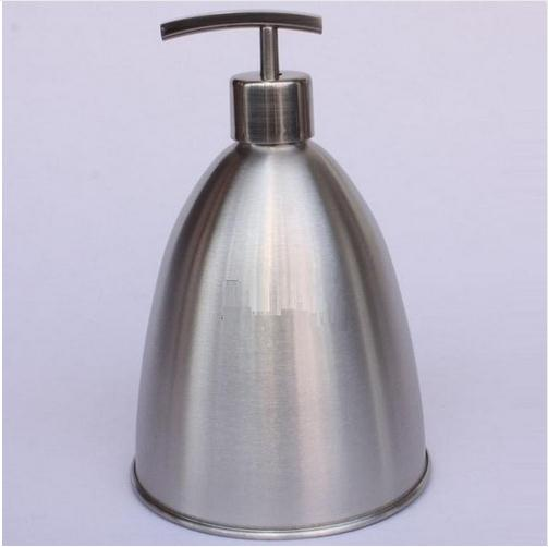 900ml Stainless steel Empty hand sanitizer lotion bottles bath lotion shampoo pump bottle free shipping<br>