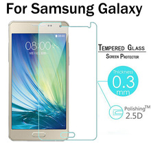 Screen Protector Film Tempered Glass For Samsung Galaxy J5 J7 J1 2016 2015 S6 S5 S4 S3 Grand Prime G530 Grand Duos Note 5 4 3