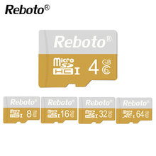 Reboto New Memory Card Class 10 128GB 64G 32G Micro SD Card Bicolor Full Capacity Guaranteed Card 16GB 8G 4G 1GB 128MB