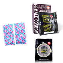 hot!!!6pcs Pleasure More Female Condom 1 Box Ultrathin Condoms Female Contraception Adult Sex Products Female life climax(China)
