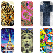 "For HTC Desire 326 326G / Desire 526 526G Dual Sim 4.7"" Case Luxury Cute Hard Plastic Cartoon Printing Cover Back Shell Capa"