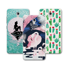 For ZTE A510 Case Cover For ZTE Blade A510 Case Mermaid Painting Soft TPU Protective Back For ZTE BA510 Blade A510 A 510 Case