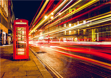 New Arrive London Red telephone boxes  Poster Customized 27x40 Cm  Room Wall Posters As Gift