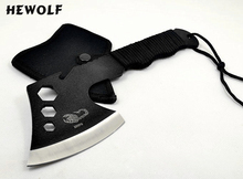 2017 new arrival Outdoor camping axe alloy steel scorpion hunting axe first aid kit
