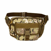 Men Military Belt Bag Waterproof Ultralight Men Nylon EDC Waist Pack Fishings Camouflage Messenger Shoulder Bag
