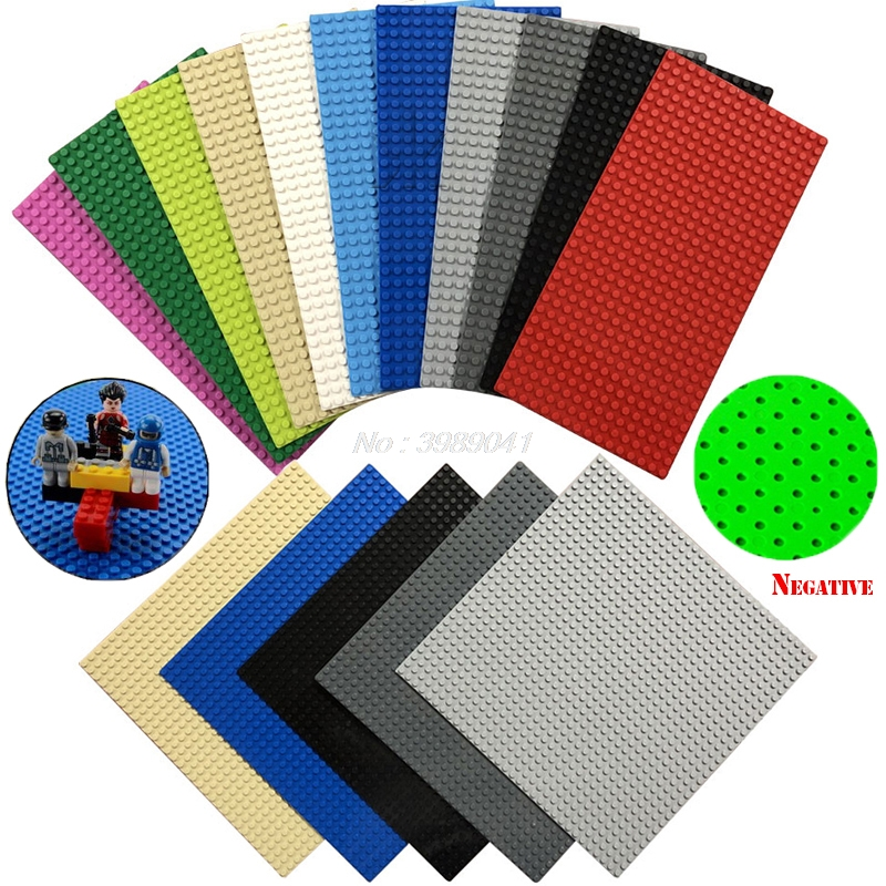 Legoing Plaque Plate 32*32 Dot Base Plate 16 * 32 Kids Toys For Children Baseplate Plates Modles Blocks Compatible With Legoings