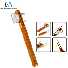 1pcs All Metal Manual Tied Hook With Sub Line Knotting Tool Dual-Use Decoupling Device Fishing Accessories