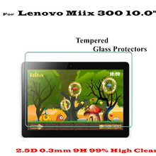 Buy 10.0 inch High Clear Anti scratch-resistant Miix 300 Glass Screen protectors Lenovo Miix 300 tempered glass screen Protector for $7.50 in AliExpress store