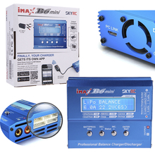 100% Original SKYRC IMAX B6 MINI 60W 5W Max Balance Charger Discharge W/ Connector Charging Cable For RC Helicopter Lipo Battery(China)