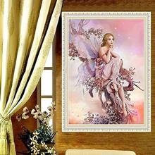New 5D DIY Diamond Fairy Butterfly Painting Diamond Embroidery Cross Stitch Paint Artist Paintings Wall decoration