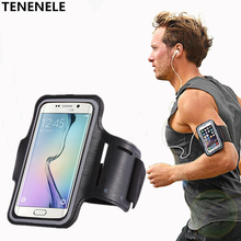 TENENELE Sport Arm Band Cover For Huawei Honor 6X Gr5 2017 Fashion Case WaterProof Sweatproof Running Gym Phone Bags(China)
