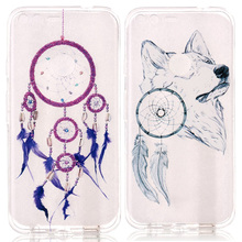 200pcs/lot For Google Pixel Dream Catcher Orange Butterfly Feather Clear Soft TPU Silicone Case For Google Pixel XL