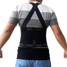 Hot Compress Sport Support X-extrem High Elastic Easy Functional Back Brace Posture Support for Promotion Gift Free Shipping(China)