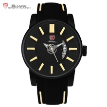 Buy Grey Reef Shark Sport Watch NEW Luxury Brand Men Date Khaki Analog Quartz Clock Army Military Silicone Wrist Watches Gift /SH480 for $58.99 in AliExpress store