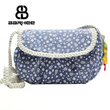 women's mini messenger bags ladies sling bag canvas crossbody shoulder bag for girls female spanish small casual satchel