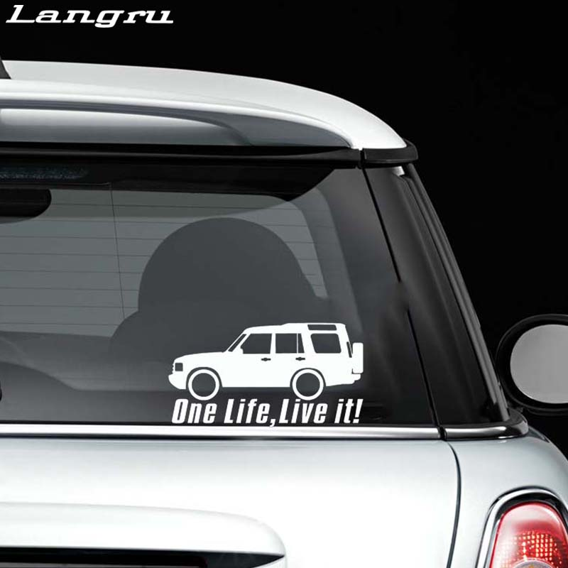 Aller vite Aller Nulle Part 4x4 Land Rover Offroad Blague Nouveauté Autocollant Vinyle B73