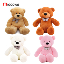 0.8-2m Three Colors Teddy Bear Skin Teddy Bear Hull Super Quality Plush Soft Coat Wholesale Price For Girls Christmas Gift