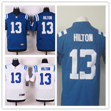 Mens 13 T.Y. Hilton Jersey 2017 Rush Salute to Service High Quality Football Jerseys(China)