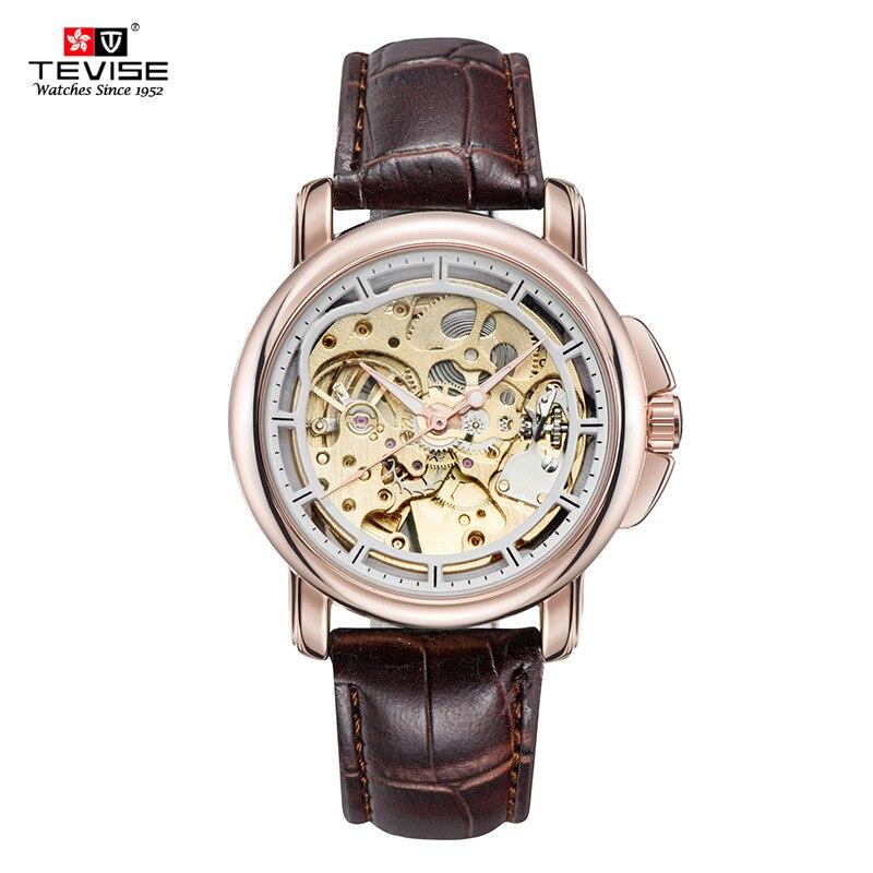 2017 Fashion Automatic Self-Wind Mechanical Watch Steel Watchband Mens Brand Watch Luminous Waterproof Calendar Male Watch W023<br>