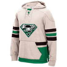 Philadelphia New Designs Winter Hoodies, Eagles Fans Superman S Logo Stitching Sweatshirt Accept Custom Any Name/Number Pullover(China)