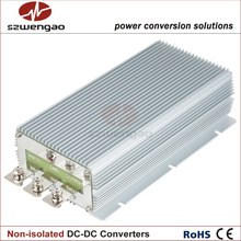 Wengao High Efficiency Voltage Reducer 24 Volt to 12 Volt 85A DC/DC Converter 1000W Step Down DC-DC Regulator