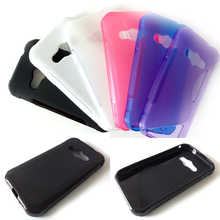 For Samsung Galaxy Xcover 3 G388F Case Cover S-Line TPU Soft Silicone Shockproof Mobile Phone Back Cases Covers(China)
